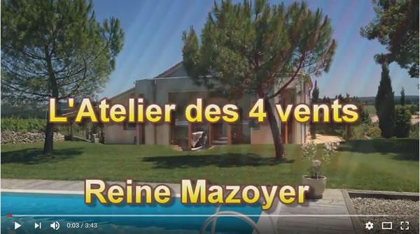 Reine Mazoyer vient d'ouvrir l'Atelier des 4 Vents à Pomport (24)