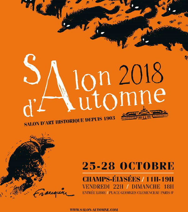 Reine Mazoyer expose au Salon d'Automne de Paris