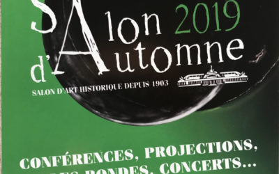 Reine Mazoyer exposera au Salon d'Automne de Paris du 10 au 13 octobre 2019