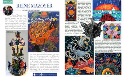 Printemps 2021 – une double page dans «Loft et décoration»